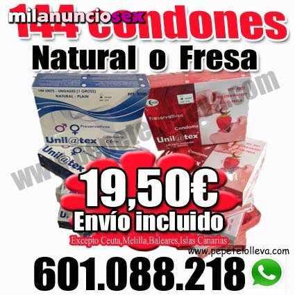 Ideal para profesionales 144 condones 19